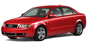 2004 Audi A4 Red